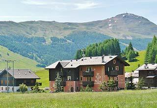 Panorama von Livigno
