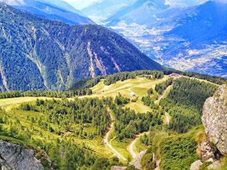 Landschaft bei Sondrio