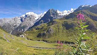 Stilfser Joch - höchster Berg im Valtellina