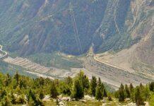Panorama von Valdisotto