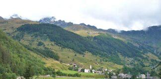 Lago di Isola bei Madesimo im Valtellina