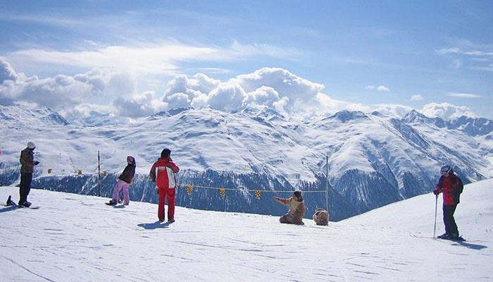 Skigebiet Valtellina