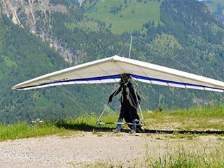 Drachenfliegen im Valtellina
