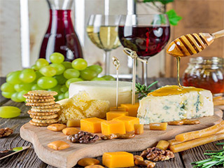 Käse aus Valtellina