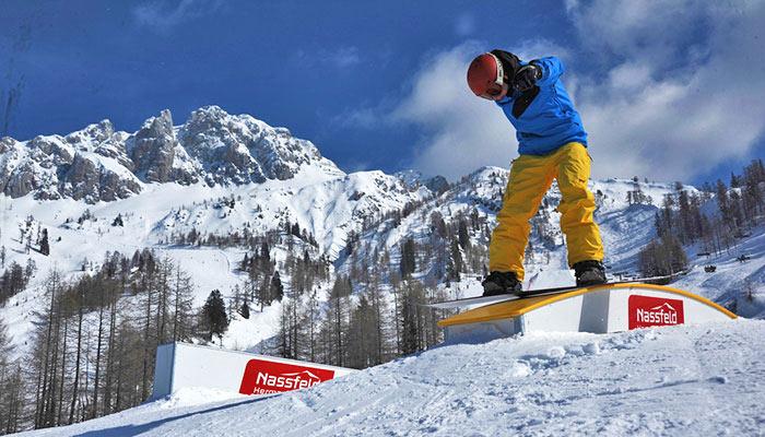 Snowpark im Valtellina