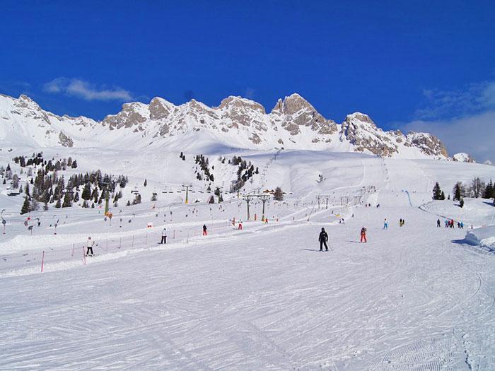 Skigebiet von Bormio