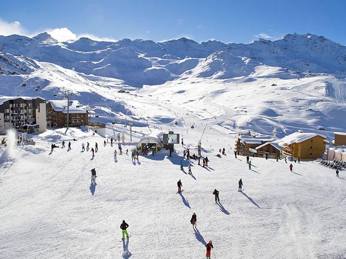 Skigebiet von Madesimo